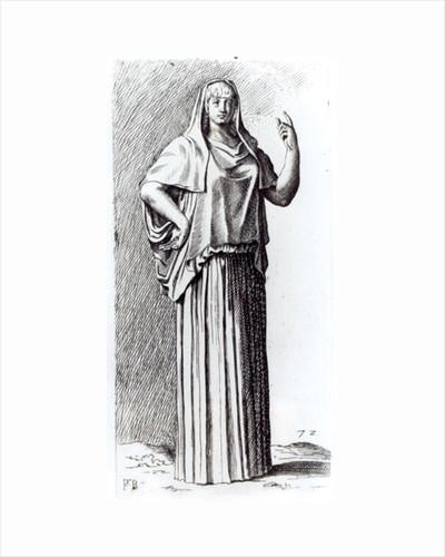 Vestal Virgin by Francois Perrier