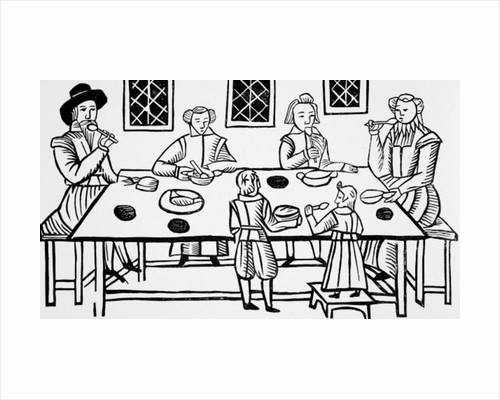 Dining at Home by English School