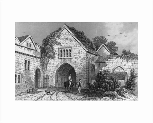 Allington Castle by English School