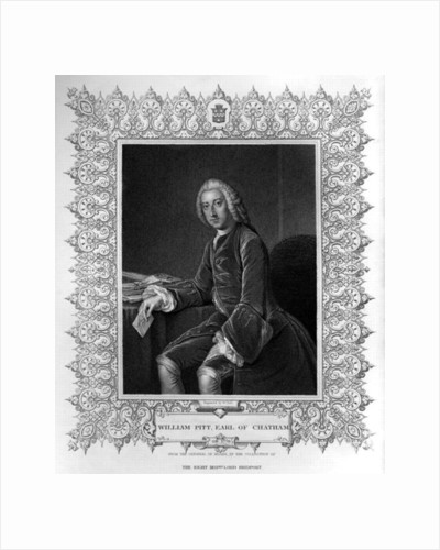 Portrait of William Pitt, 1st Earl of Chatham by William