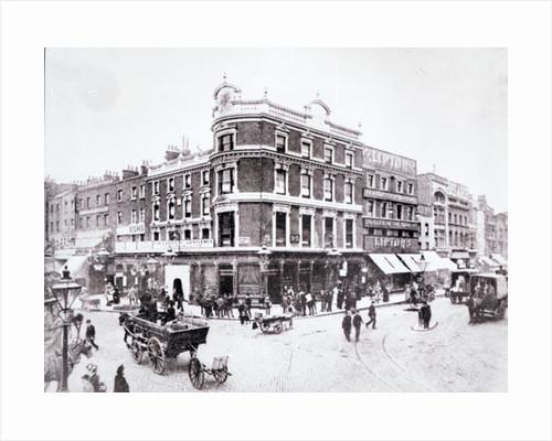Pentonville Road scene, Islington, London by English Photographer