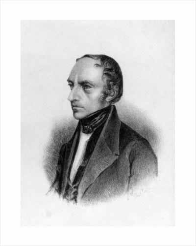 Portrait of Francois Guizot by English School