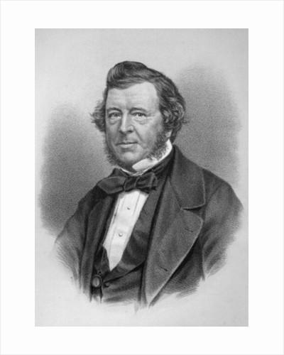 Portrait of Samuel Lover by English School