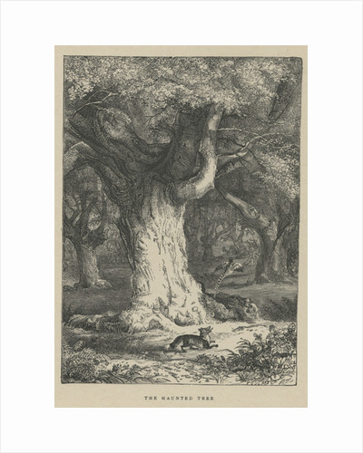 The haunted tree by Anonymous