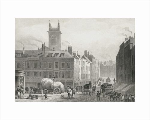 Holborn Bridge by Thomas Hosmer Shepherd