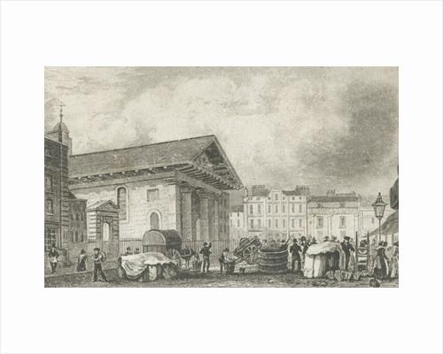 St Paul's Covent Garden by Thomas Hosmer Shepherd
