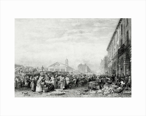 Covent Garden market by English School