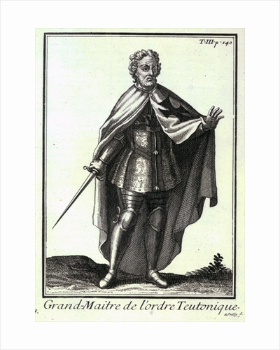 Grand Master of the Teutonic Order by French School
