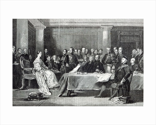 The Queen's First Council by Sir David Wilkie