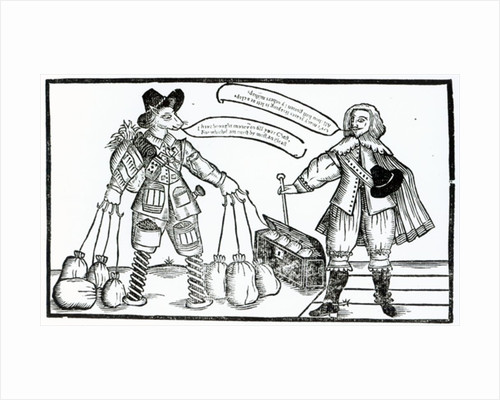 'The Complaint of M, Tenter-hooke the Projector, and Sir Thomas Dodger the Patentee' by English School