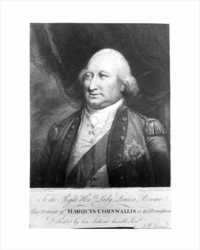 Charles, Marquis of Cornwallis by Anthony Devis