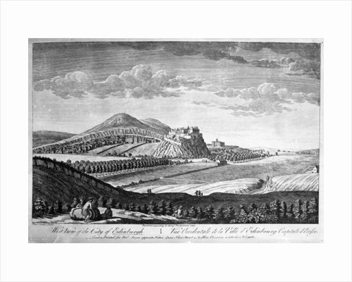 West View of the City of Edinburgh by Paul Sandby
