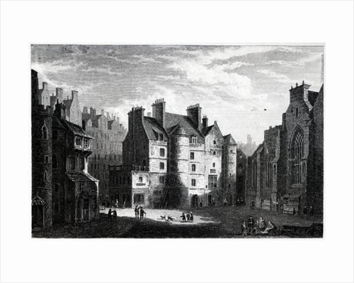 Old Tolbooth, Edinburgh by Alexander Nasmyth