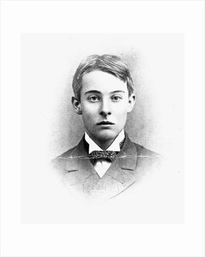 Lord Alfred Douglas, at the age of Twenty-One, at Oxford by English Photographer