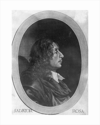 Salvator Rosa by Giovanni Battista Bonacina
