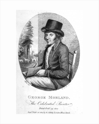 George Morland by English School