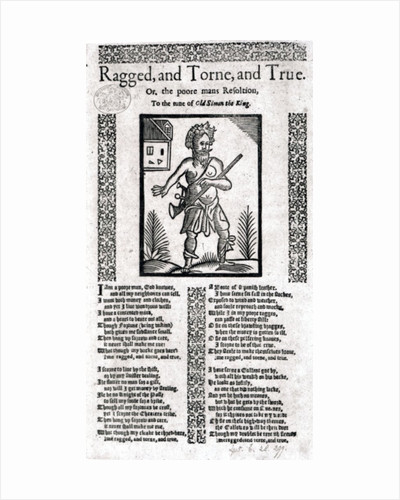 Ragged, Torn and True, or the Poor Man's Resolution by English School