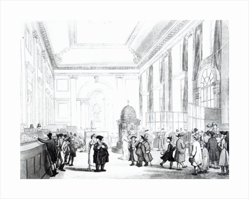 Bank of England, Great Hall by T. & Pugin