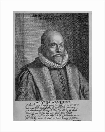Jacobus Arminius by Dutch School
