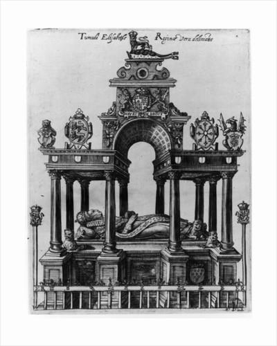 The Tomb of Elizabeth I by Dutch School