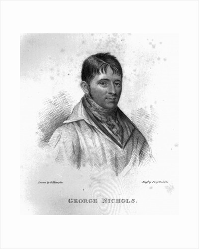 George Nichols, engraved by Percy Roberts by George Sharples