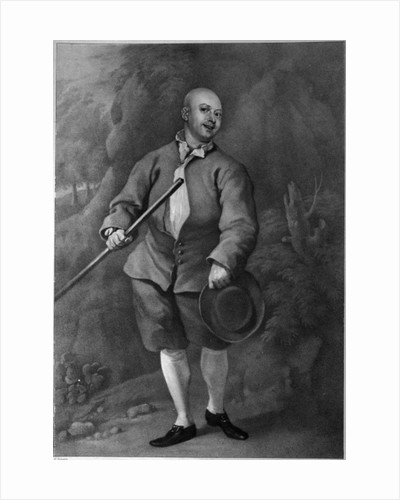 John Broughton by William Hogarth