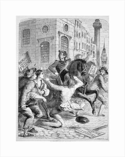 Burdett Riot by English School