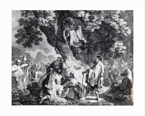 The Druids, or the Conversion of the Britons to Christianity by Francis Hayman
