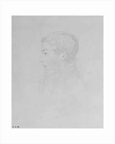 George Parker Bidder by John Sell Cotman