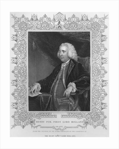 Henry Fox, 1st Baron Holland by Sir Joshua Reynolds