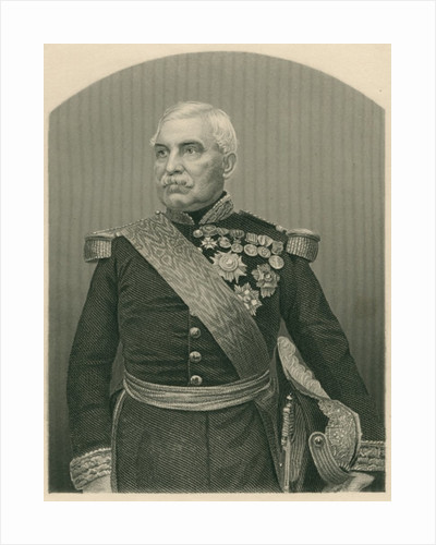 Aimable Jean Jacques Pelissier Duc de Malakof by John Jabez Edwin Paisley Mayall