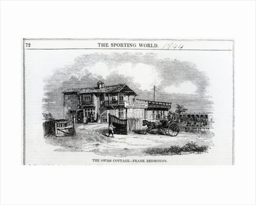 The Swiss Cottage by English School