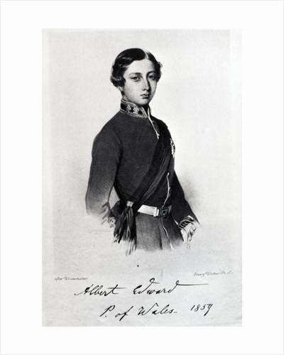 Edward, Prince of Wales by Franz Xaver Winterhalter