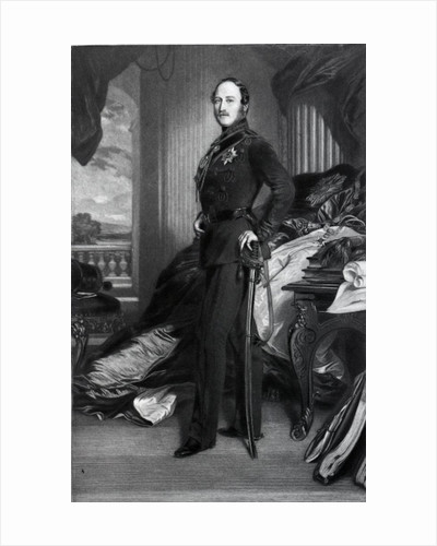 Prince Albert, after the painting of 1859 by Franz Xaver Winterhalter