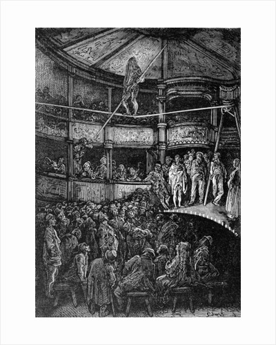 Blondin at Shoreditch by Gustave Dore