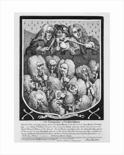 A Consultation of Physicians by William Hogarth