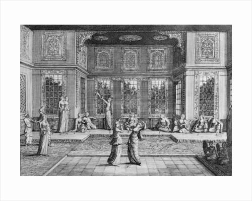 Women dancing in the Harem by William Hogarth
