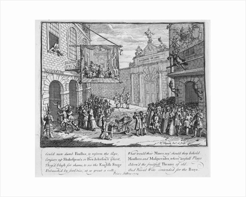 Masquerades and Operas, Burlington Gate by William Hogarth