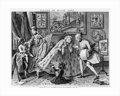 Taste in High Life by William Hogarth