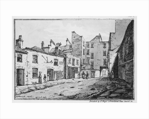 View of Cato Street by William Henry Harriott