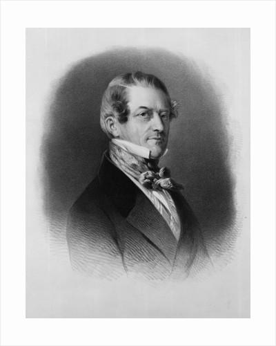 Christian Friedrich, Baron Stockmar by Franz Xaver Winterhalter