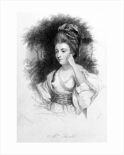 Hester Thrale by Sir Joshua Reynolds