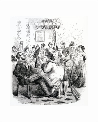 A Night-House in The Haymarket by English School