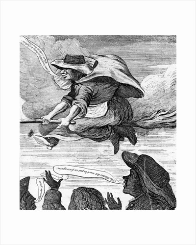 E. Canning vindicated, or Gypsies Flight to Enfield Wash by English School