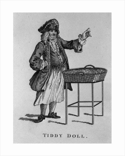 Tiddy Doll, the Gingerbread Seller by English School