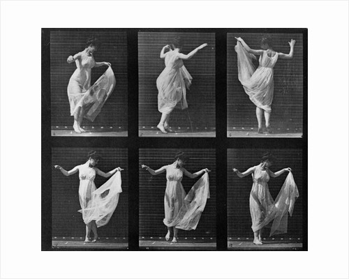 Dancing Woman by Eadweard Muybridge