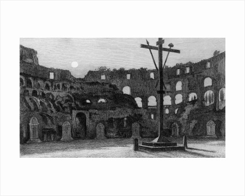 The Colisseum by Moonlight by Edward William Cooke
