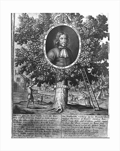 William Pendrill and the Boscobel Oak by English School