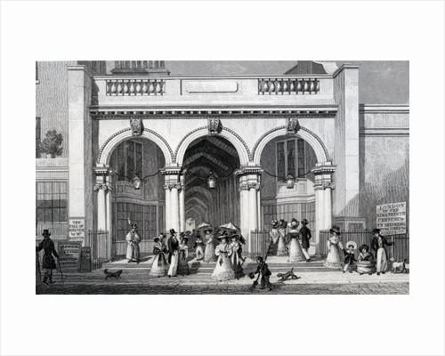 Burlington Arcade, Picadilly by Thomas Hosmer Shepherd