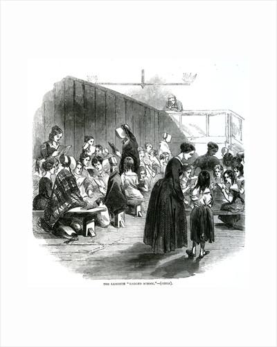 The Lambeth Ragged School by English School